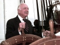 Walter Cronkite On The USS Constitution 1997