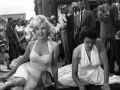 Marilyn Monroe and Jane Russell at Graumans